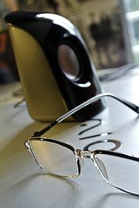 eyeglasses, eyewear, laptop, macro