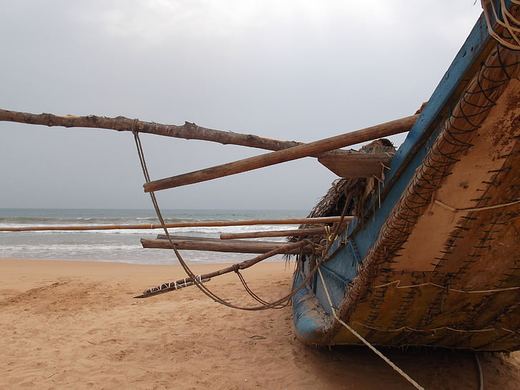 Srí lanka, topánka, more