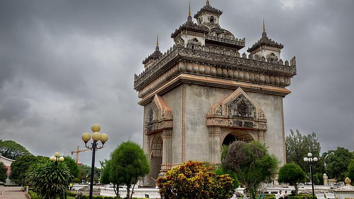 patuxai, Laos, Vientián, Monumento, puerta
