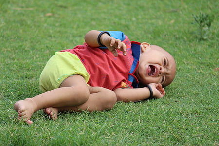 crying baby, child, newborn, boy