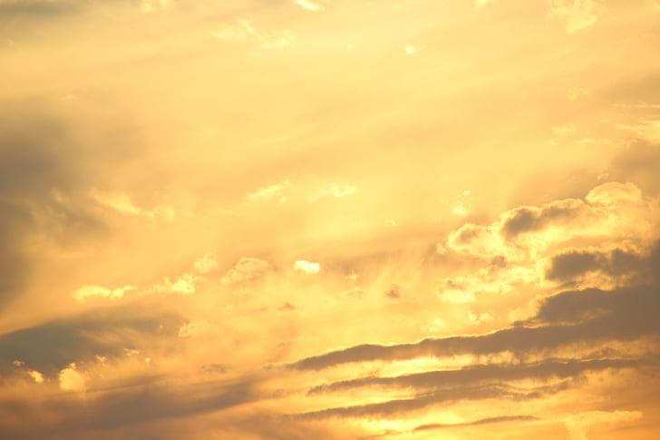 sky, twilight, sun
