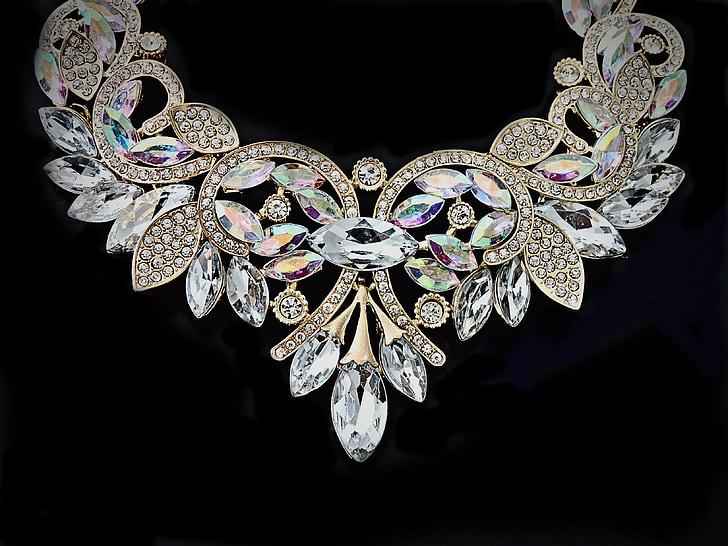 Collaret, Collaret de cristall, Collaret de declaració, Cristall, joieria, moda, joia