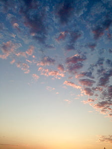 pilvet, Dawn, hämärä, Luonto, ulkona, luonnonkaunis, taivas