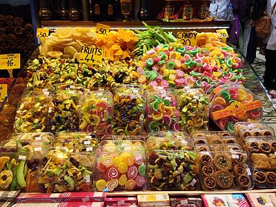 伊斯坦堡, 香料, 市场, 食品, 土耳其, 土耳其语, 亚洲