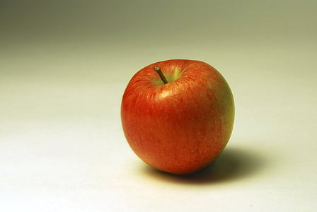 Apple, puu, punane õun, taust, Photoshoot, valge taust