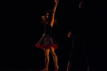 deja, māksla, teātris, emocijas, apgaismojums, Pieturvietas, gaisma