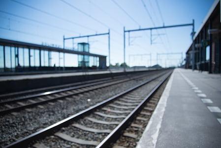 train, track, transportation, railroad, transport, railway, rail