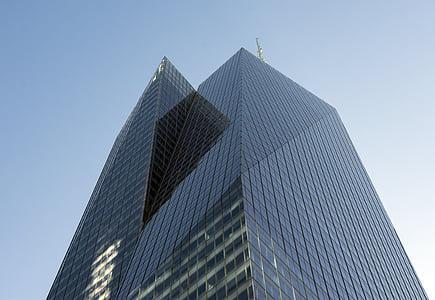 hoone, pilvelõhkuja, NYC, New york, City, ettevõtte, rahaline