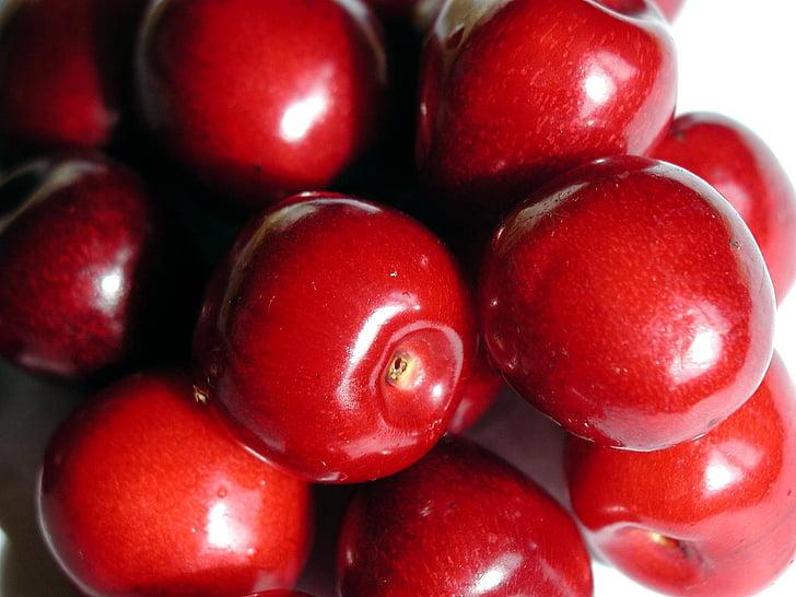 resolució, alta, friut, fruita, cirera, fruites, plantes