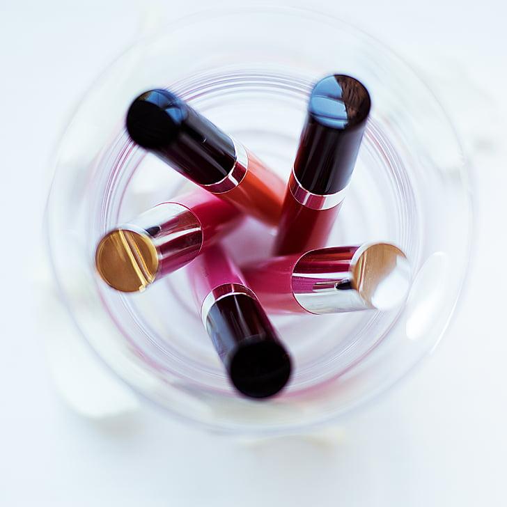 Schmink, Lippenstift, Farbe, Kosmetik, Lippen, Glanz, Rosa