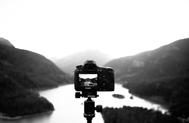appareil photo, photographie, paysage, photo, matériel, Digital, technologie