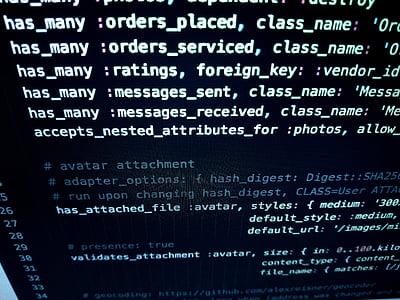 close-up, code, coding, computer, conceptual, data, developer