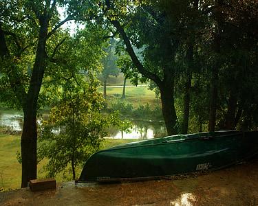 canoë, rivière, sport, nature, Loisirs, à l'extérieur, canoë-kayak