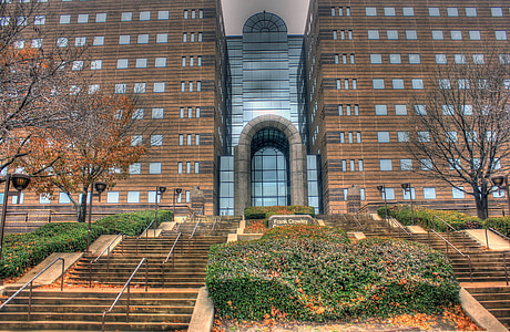 Dallas, Gerichtsgebäude, USA, Texas, Architektur, Wahrzeichen, Gebäude