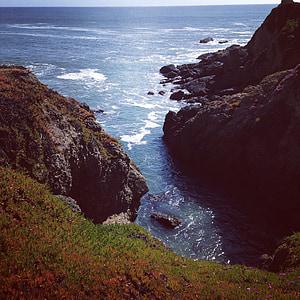 del Pacífic, Costa, ona, oceà, blau, Califòrnia, Amèrica
