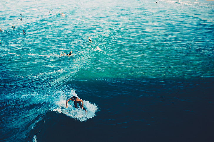 surfistes, surf, ones