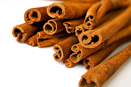 cinnamon, cinnamon stick, rod, kitchen, spice, raw, cook