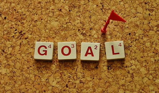 objectiu, arribar, arribar a, posar Diana, adonar-se, èxit, èxit