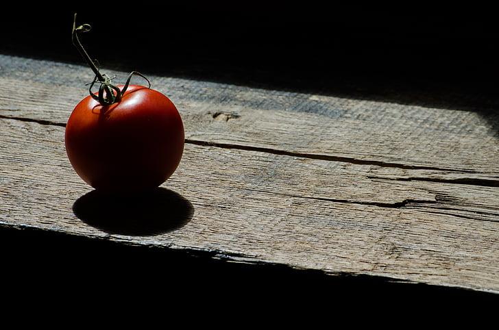 tomàquet, contrasten, producte, aliments, vermell, fresc, Sa