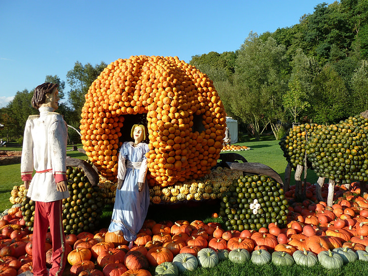 cinderella, pumpkin, autumn, fairytale, carriage