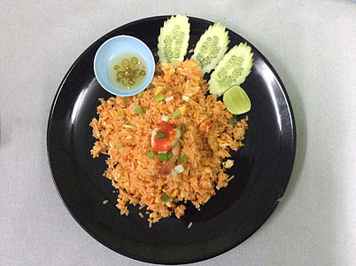 riisi, Tai toidu, toidu, süüa, Vürtsikas, lõunasöök, õhtusöök