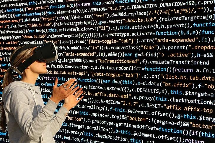 Cyber ulleres, virtual, món virtual, ulleres virtuals, dades, programació, les dades de programació