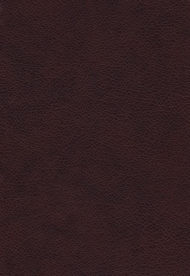 cuir, textures, fons, teixit, crua, decoració, material