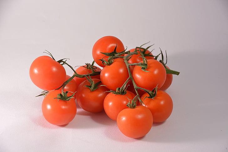 tomāti, sarkana, ēšanas, pārtika, dārzeņu dārzs, tomātu, sarkano, vitamīnu