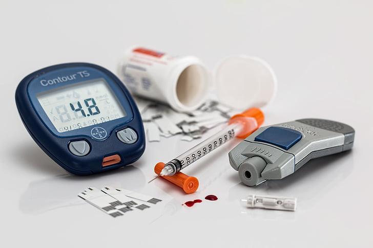vércukorszint, krónikus, cukorbetegség, cukorbetegség, cukorbeteg, betegség, glükóz