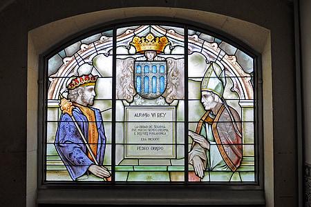 Masaccio, finestra, vidre, Art