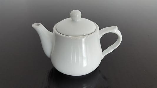 tee, portselan, infusiooni, teekann, tee - kuum jook, Cup, jook