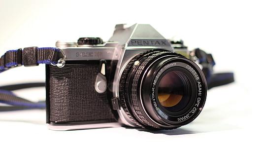 càmera, vell, retro, Fujifilm, fotos, nostàlgia, analògic