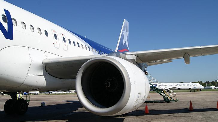 máy bay, Sân bay, Chi-lê, Aviation, chuyến đi, hàng, máy bay