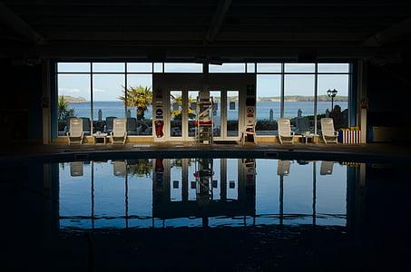 basseng, svømming, vann, blå, Sommer, ferie, ferie
