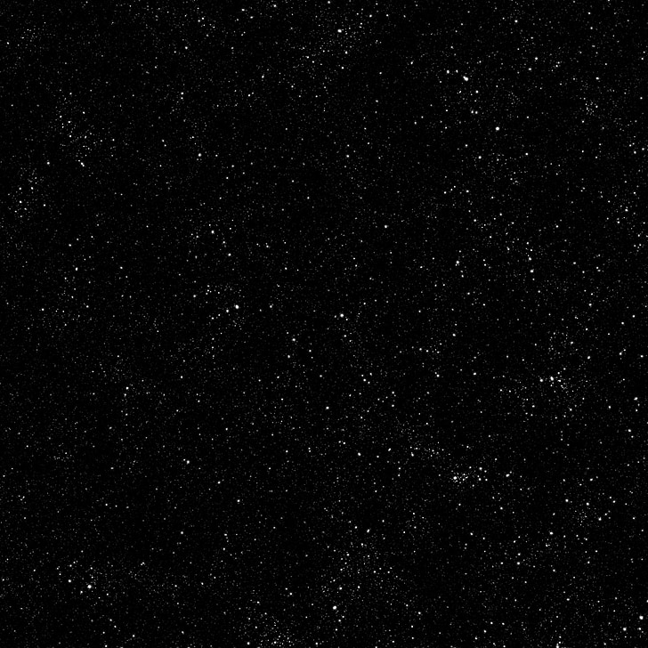 étoiles, noir, ciel nocturne