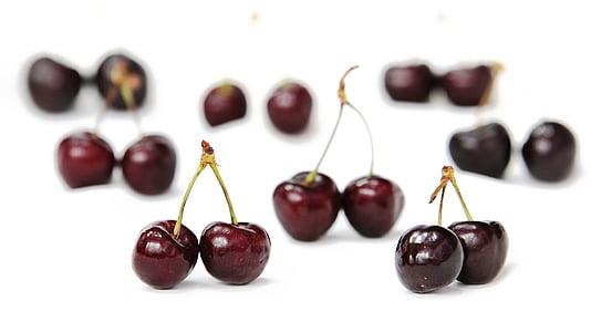 kirsid, puu, punane, võimsus, kirss, Viljapuu, guigné