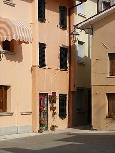 Itàlia, Adriàtic, Mar, l'estiu, vacances, edifici, arquitectura