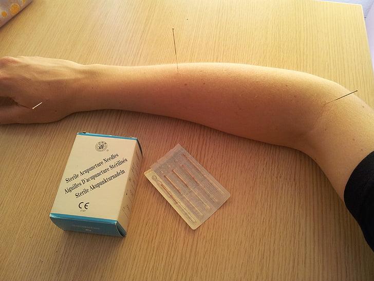nõelravi, Akupunktuuri nõelad, Hiina meditsiin