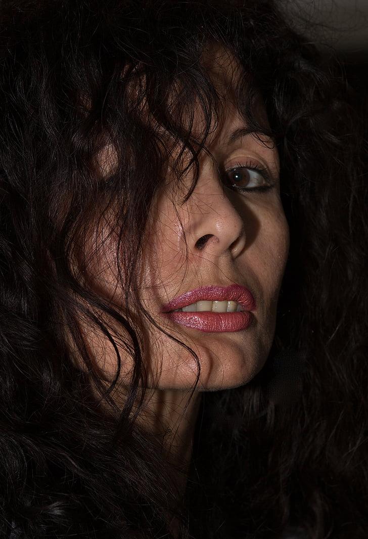 woman, portrait, sensual, beautiful, sexy, face