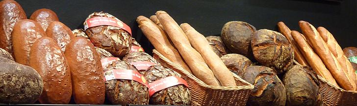 leib, saiakesed, küpsetatud, Frisch, Krõbe, Omatehtud, Päts