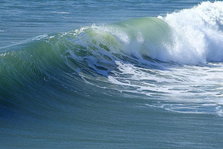 laine, Ocean, loodus, Beach, Sea, Curl, Surf