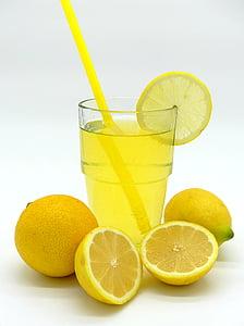limonāde, citronu-laima soda, dzēriens, erfrischungsgetränk, citroni, augļi, veldze