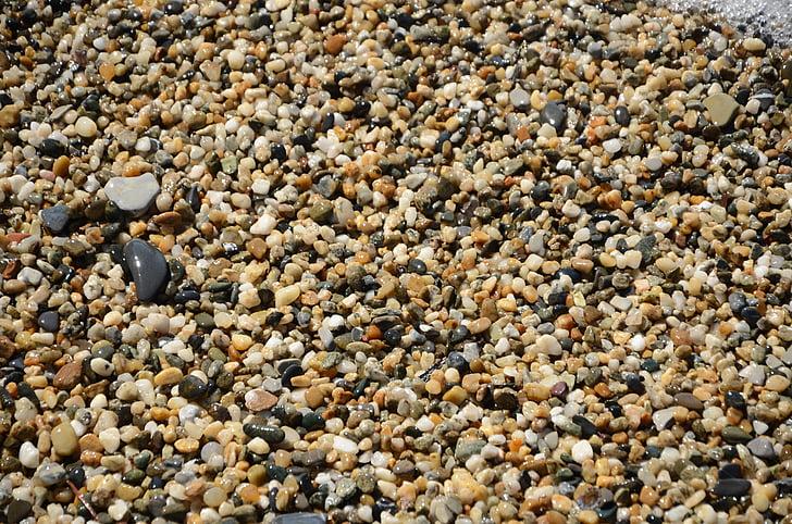 камені, гальковий пляж, фоновому режимі, берег моря, узбережжя