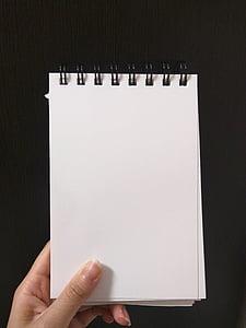 trống, sản phẩm nào, bản ghi nhớ, máy tính xách tay, Trang, giấy, tờ