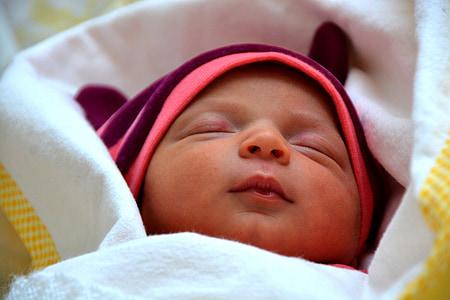 llorer, adormit, nadó, princesa, nen, son, dolç