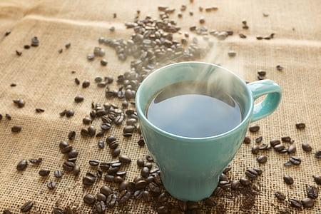 café, haricots, grain de café, boisson, Beverage, brun, caféine