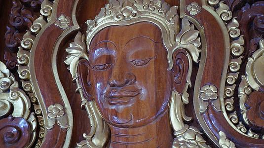 Àngel, Àngel Tailàndia, mesura, art de Tailàndia, Art, budisme, temple de Tailàndia