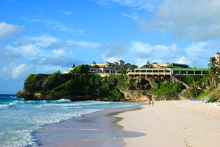 caribbean, barbados, beach, hotel, vacation, tourism, sea