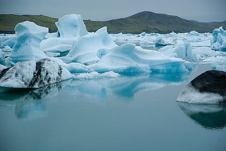 iceberg, iceland, glacier, arctic, ice, nature, iceberg - Ice Formation