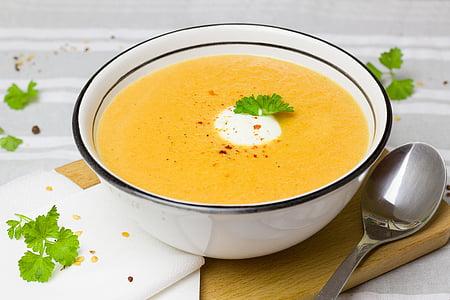 leves, sárgarépa, gyömbér, élelmiszer, enni, zöldség, szakács